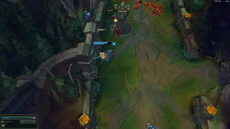 D5 support player on Azir
