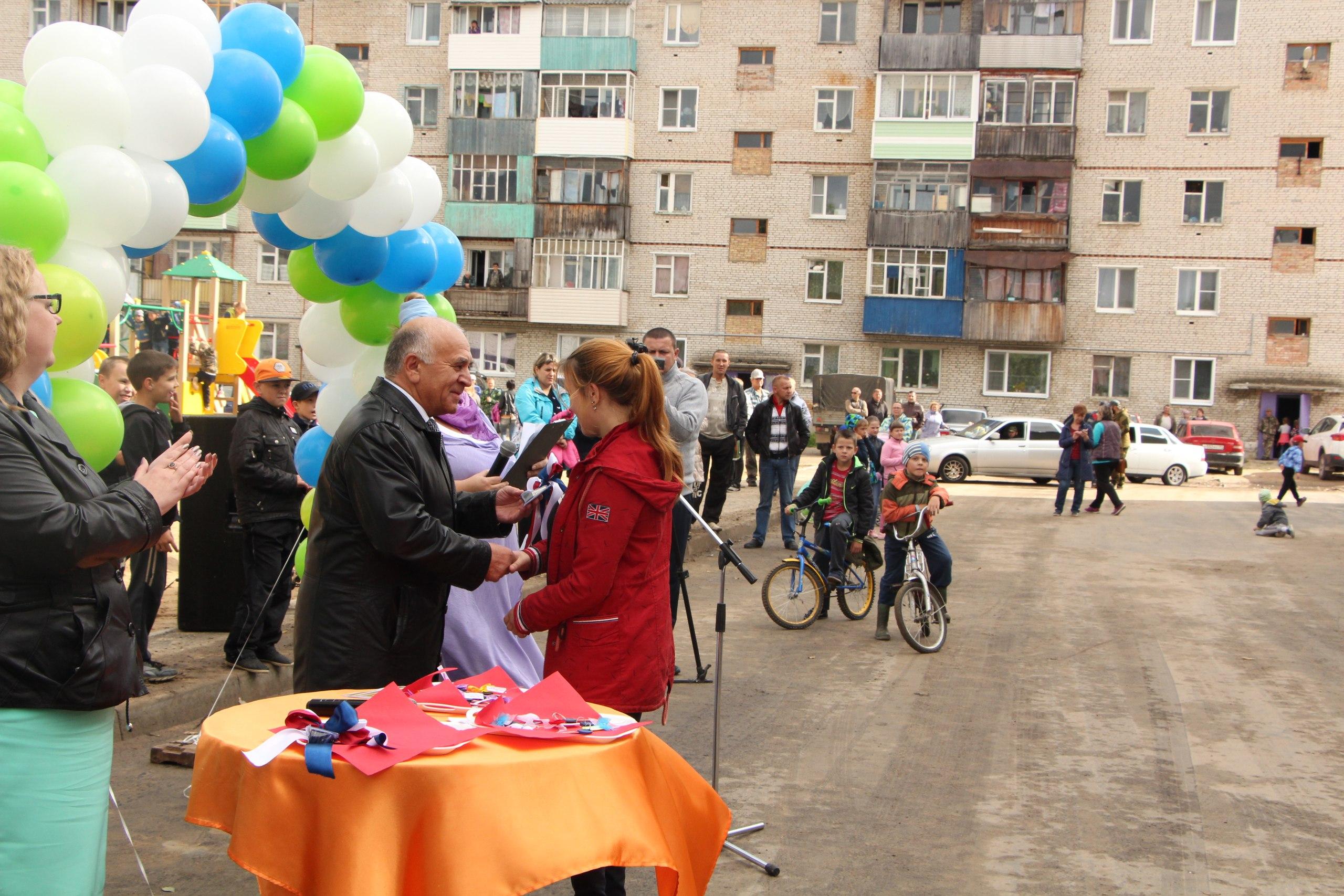 Жителям 78-квартирного дома в Усогорске вручили ключи от квартир