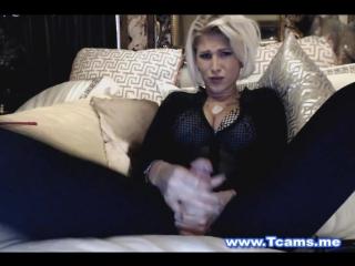 Hottest big tits blonde plays her huge cock (красотки shemale   трансы ts ladyboy трапы sissy)