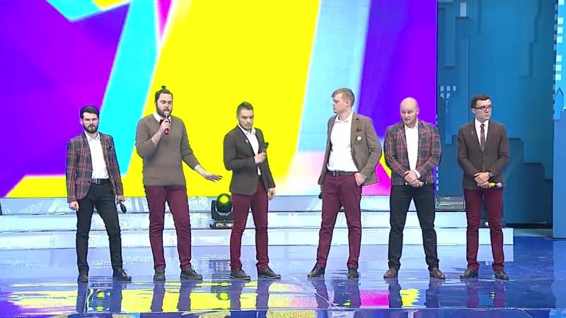 КВН Наполеон Динамит - 2015 Первая лига Третья 1⁄4 Приветствие