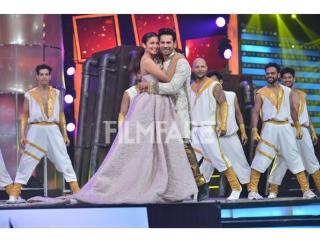Варун и Алия на Filmfare