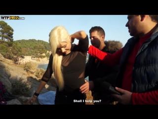 Арабы пикаперы поимели горячую русскую шлюшку на живописных берегах испании. секс, инцест, brazzers, порно, трахает, малолетка