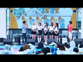 [2016.09.27] red velvet -- russan roulette | mbc kim hye young's all smile show at pyeongchang plaza