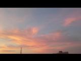 рассвет во Вриндаване (без фильтров)