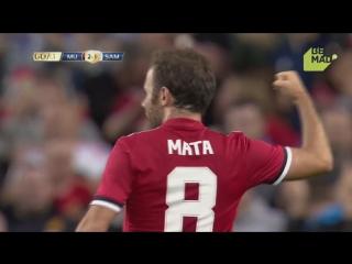 Манчестер Юнайтед - Сампдория 2:1. Обзор товарищеского матча.