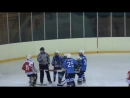 Драка детский хоккей .Fight in childrens hockey of 10-11 years