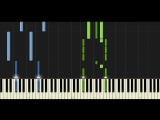Synthesia Piano Tutorial Anna blue - Silent Scream