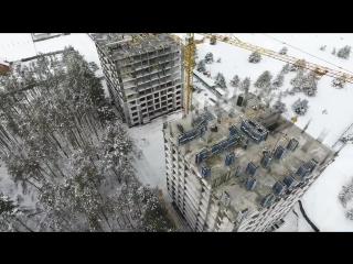 Хід будівництва ЖК New York Towers 08.02.2017