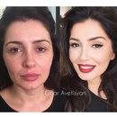 Лифтинг макияж в домашних условиях