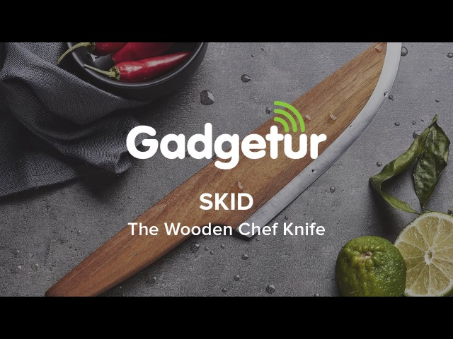 SKID - The Wooden Chef Knife