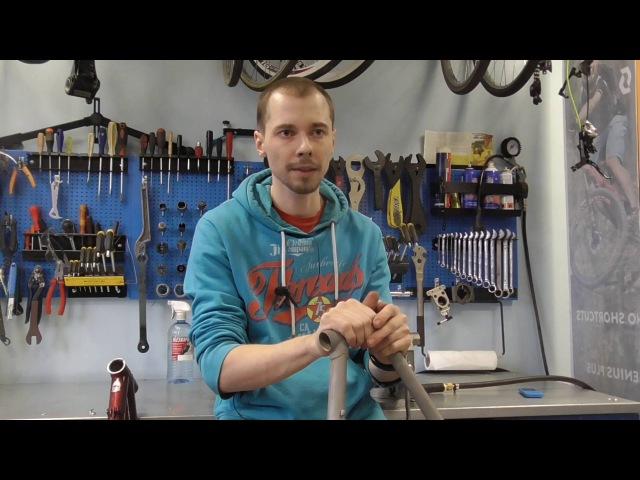 Сварка рамы велосипеда алюминий сталь