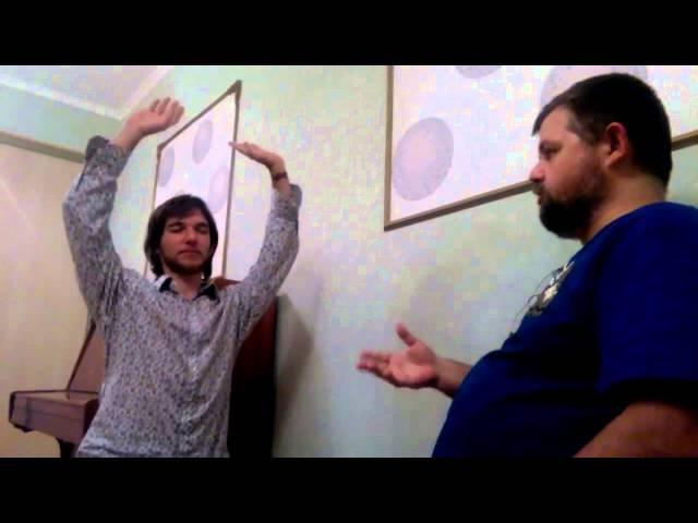 В.Лебедько Архетипич. работа 6 (2015) Танец на грани с Иштар
