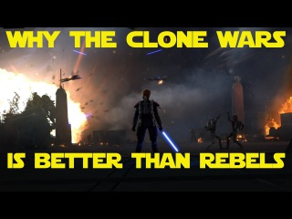 Clone wars is better than Rebels!