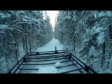 The Siberian taiga in winter  Зимняя поездка на таежное озеро Черталинское