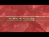 Halford only head shoot