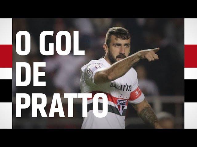 O GOL DE PRATTO: SPFC 1 X 0 VASCO | SPFCTV