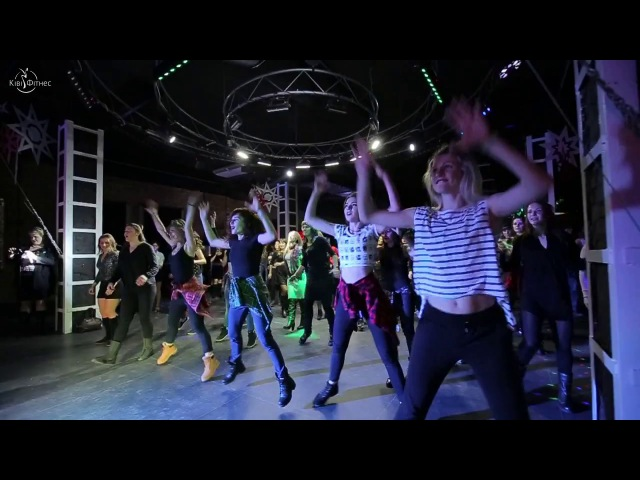 Zumba конвенція від Христини Ткач ч.1 / Новорічна вечірка 2016-2017 Ківі Фітнес