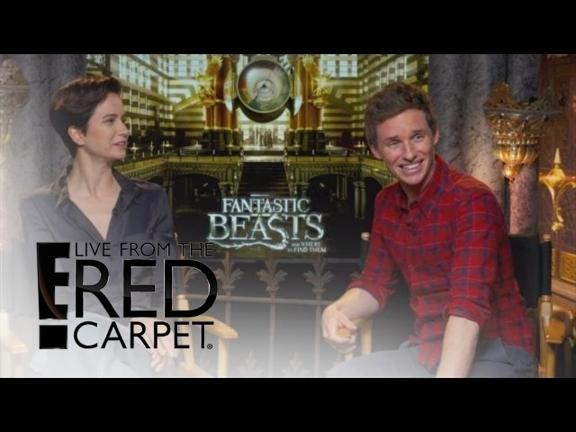Eddie Redmayne Could Use Some Magic to Help With Fatherhood | E! Live from the Red Carpet