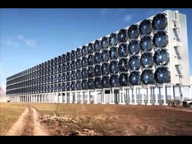 Un 'bosque' artificial en forma de pared gigante que limpia el aire de CO2