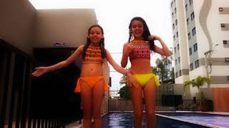 Desafio da piscina 2017 - Kids for girls desafio da piscina - challenge pool