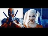 Harley Quinn + Deadpool Feel Invincable