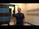 ремонт квартир в оренбурге, отделка ванной комнаты бело сине черном