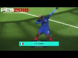 Pes 2018 - Beta Online - Pogba Dab Dance &amp New Volley Goal -HD