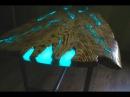 СТОЛ МОЛНИЯ. ( Часть 1 - Столешница) Как сделать светящийся стол из эпоксидной смо ...