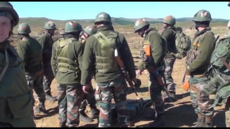 Российско-индийские подразделения отработали совместные действий с боевой стрельбой