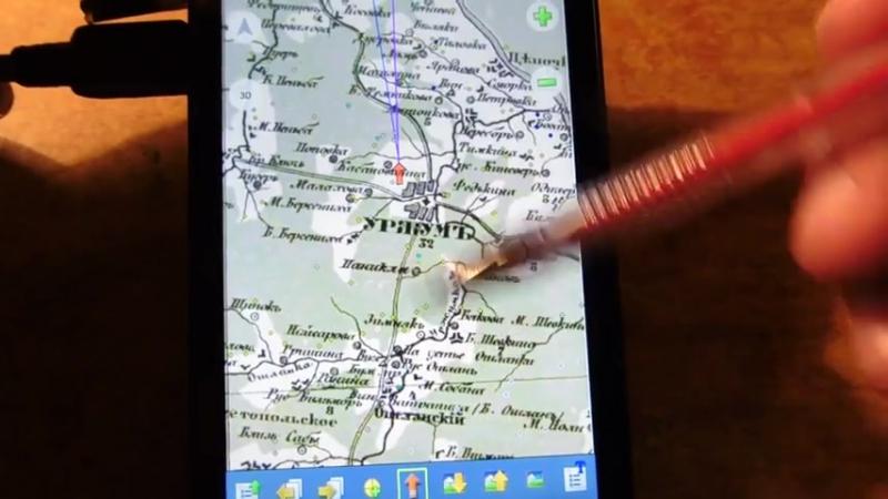Загрузка OziExplorer и старых карт в телефон или навигатор на Android