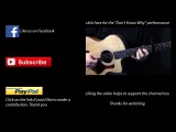 How to play Dont Know Why on guitar by Norah Jones