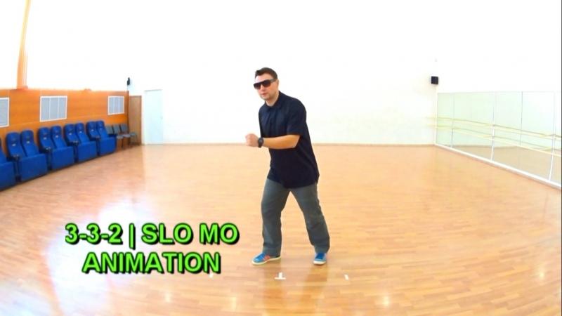 Animation practice | 3-3-2 | Slo Mo pattern