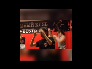 Тайский бокс девушки, тренировки, спорт, мотивация