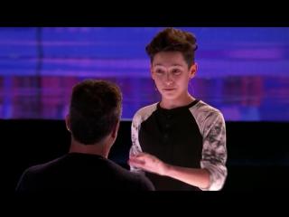 15-летний парень поразил своим крутым карточным фокусом на шоу талантов