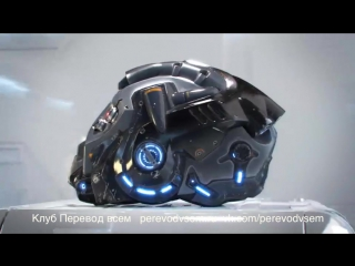 Текстуринг и шейдинг Sci-Fi шлема в Blender
