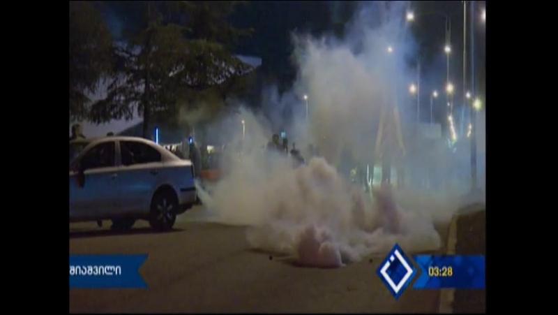 ბათუმი. საპროტესტო აქცია /ვიდეო/ В Батуми местные жители проводят митинг против полиции