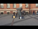 кавер Rasmus - in the shadows (The Railroads, уличные музыканты, Питер)