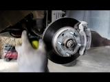 Chevrolet Aveo Шевроле Авео 2009 года Замена рулевых наконечников