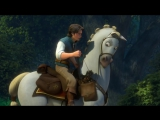 Tangled - Flynn and Maximus Scene