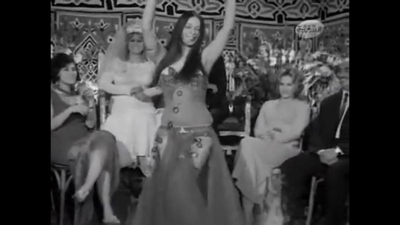 SOHEIR ZAKI in film 'Modaresti Al-Hasna' 1971 (by Omar Fakhfekh)