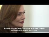 Isabelle Huppert reçoit le French Cinema Award | Изабель Юппер