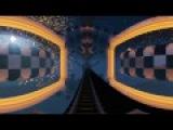 Minecraft VR 360 Space Rollercoaster