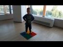 Комплекс упражнений на массажных (ортопедических) ковриках