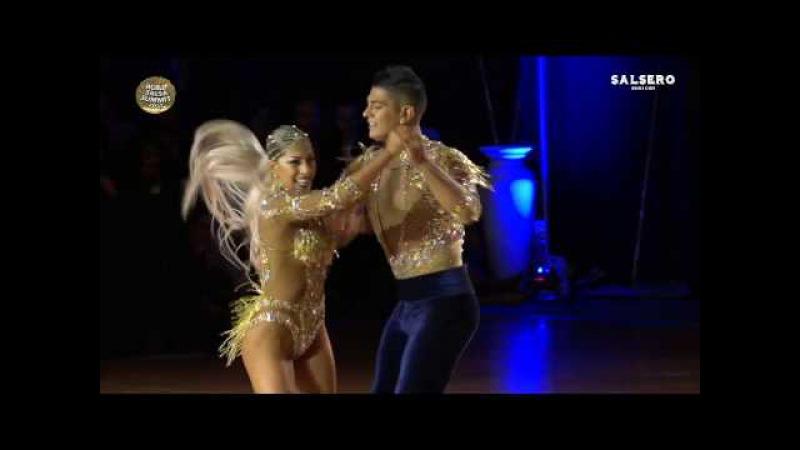 Ricardo Karen, Chile Argentina, Professional Salsa Cabaret, Final Round, World Salsa Summit 2017
