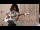 Judas Priest - Painkiller Solo GUITAR  Cover 12 years old