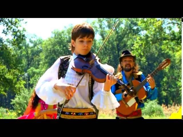 Чардаш Руслан 12 лет Юный виртуоз young virtuoso Цыганский ансамбль ИзумрудChardash Monti