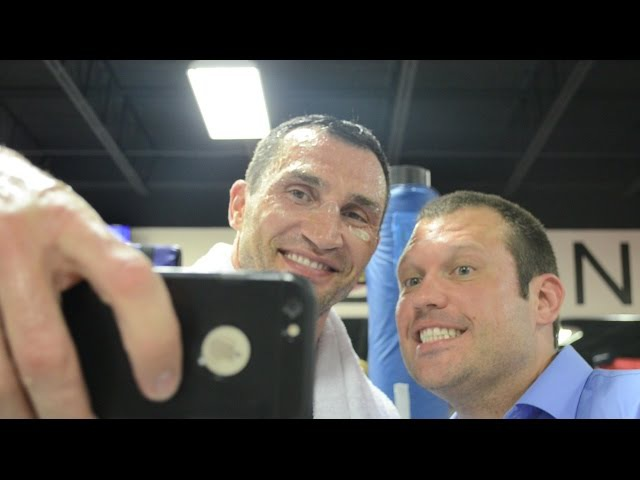 Either/Or with Heavyweight Champ Wladimir Klitschko: Wlad Likes Hugs, Selfies and Kisses
