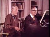 Peter Pears &amp Benjamin Britten discuss