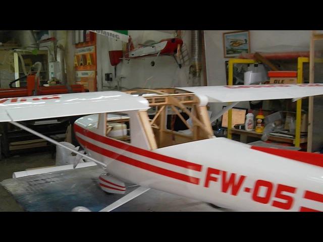 Faster Wind - Cessna 152 тест управления.