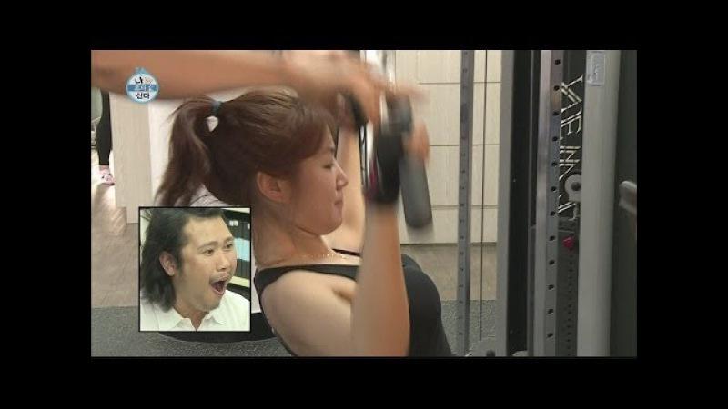 [HOT] 나 혼자 산다 - Soyou working out at the gym,대표 몸짱 소유의 몸매 관리 비법 공개! 그녀의 운동